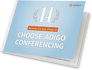 law firms choose adigo conferencing